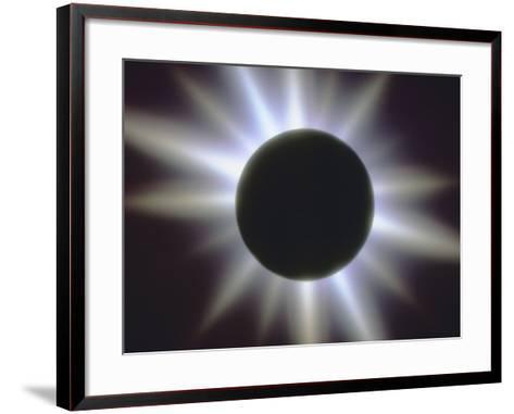 A Solar Eclipse--Framed Art Print