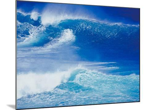 An Ocean Wave in Hawaii--Mounted Photographic Print