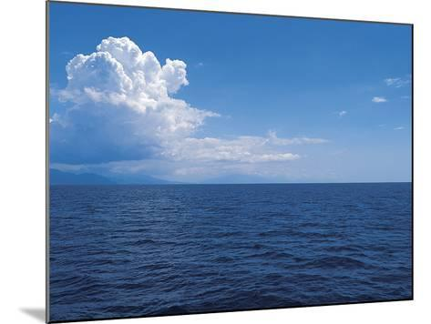 Clouds above the Sea--Mounted Photographic Print