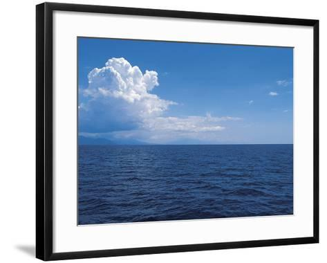 Clouds above the Sea--Framed Art Print