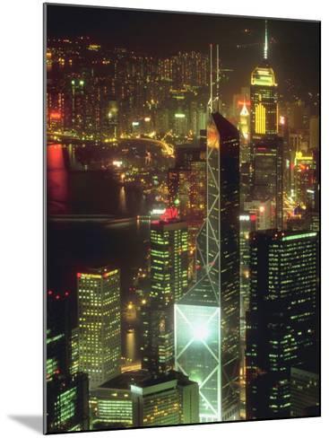 Cityscape of Hong Kong--Mounted Photographic Print