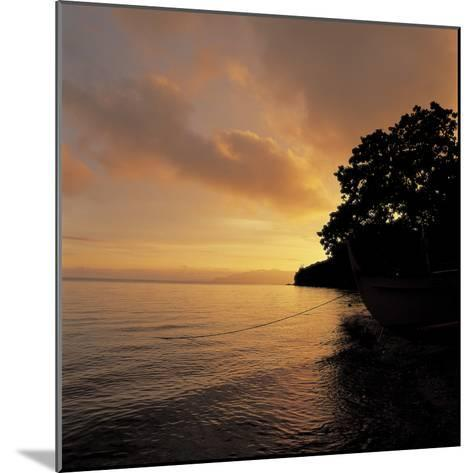 Sunset over a Sea--Mounted Photographic Print