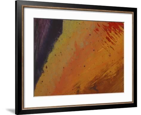 Textured Background--Framed Art Print