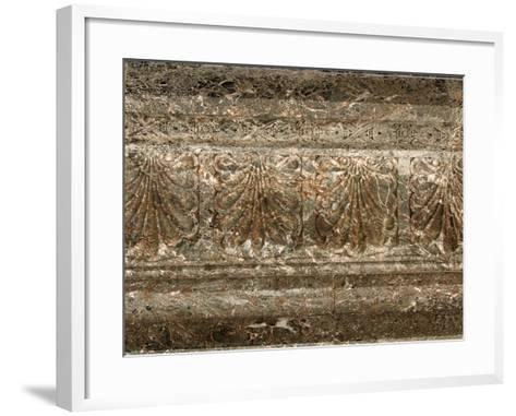 Weathered Ornate Surface in New Orleans, Louisiana--Framed Art Print
