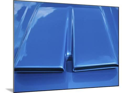 Close-up on Muscle Car Vent--Mounted Photographic Print
