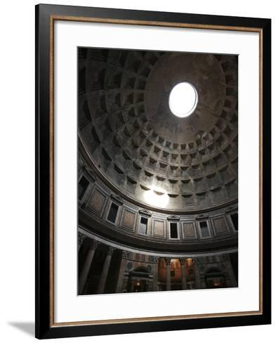 Dome of the Pantheon--Framed Art Print