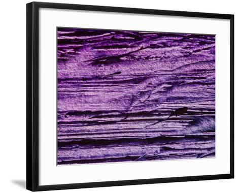 Purple, Weathered Background--Framed Art Print