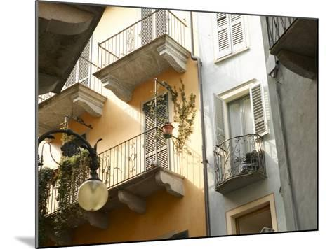 Building Balcony with Green Creeping Vines--Mounted Photographic Print