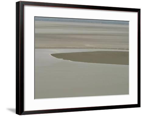 Picturesque Landscape of Placid and Serene Ocean and Beach--Framed Art Print