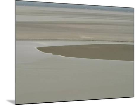 Picturesque Landscape of Placid and Serene Ocean and Beach--Mounted Photographic Print