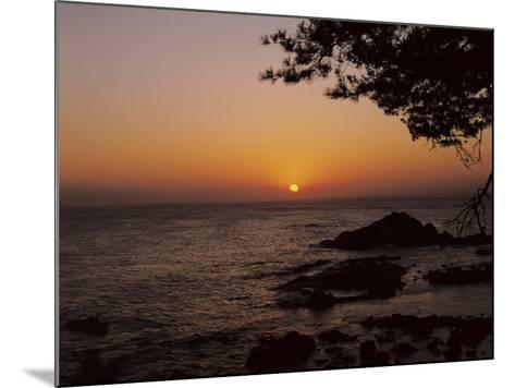 Peaceful and Beautiful Sunset over a Sea--Mounted Photographic Print