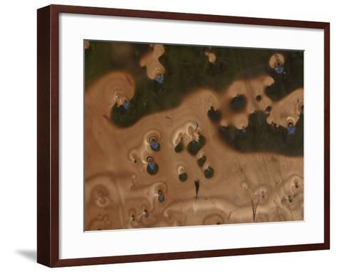 Abstract Pattern with Organic Texture--Framed Art Print