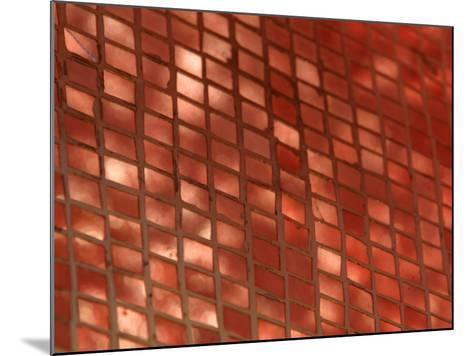 Metallic Copper Tiles Set into Ceramic--Mounted Photographic Print