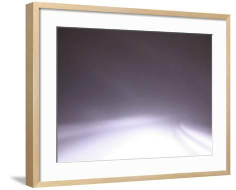 Blurred Motion with Light of Abstract Background--Framed Art Print