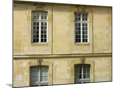 Exterior of Historical Building and Windows--Mounted Photographic Print