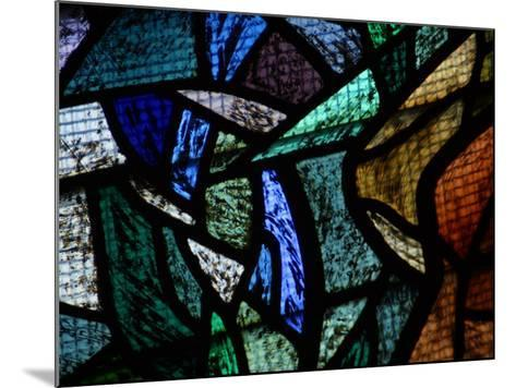 Ornately and Elaborately Decorative Stained Glass Windows of Cathedral--Mounted Photographic Print