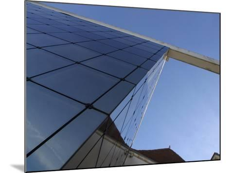 View of Contemporary Glass High Rise Building in France--Mounted Photographic Print