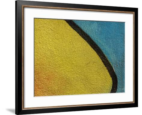 Close-Up of Abstract and Colorful Graffiti--Framed Art Print
