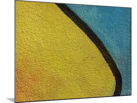 Close-Up of Abstract and Colorful Graffiti--Mounted Photographic Print