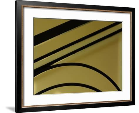 Abstract Wrought Iron Detailed Background--Framed Art Print
