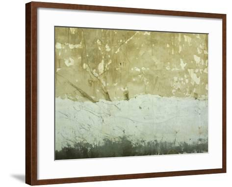 Close-Up of Weathered and Rundown Cement Wall--Framed Art Print