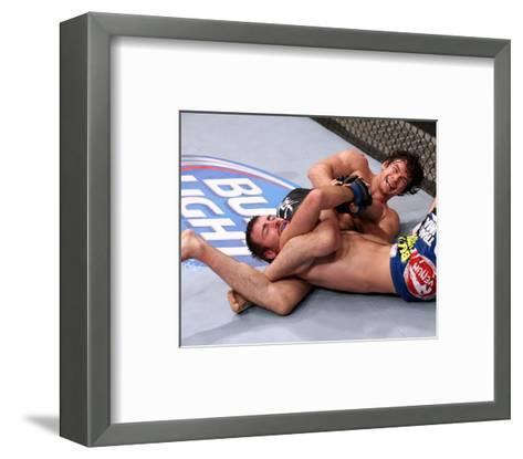 UFC Fight Night: Aubin-Mercier v Lindsey-Nick Laham/Zuffa LLC-Framed Art Print