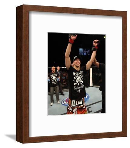 UFC Fight Night: Macdonald v Saffiedine-Nick Laham/Zuffa LLC-Framed Art Print