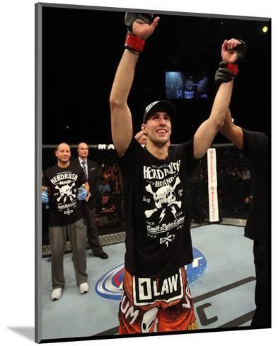UFC Fight Night: Macdonald v Saffiedine-Nick Laham/Zuffa LLC-Mounted Photo