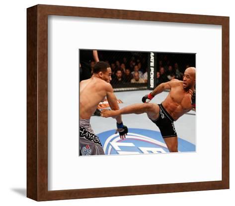 UFC on FOX: Jan 26, 2013 - Demetrious Johnson vs John Dodson-Josh Hedges-Framed Art Print