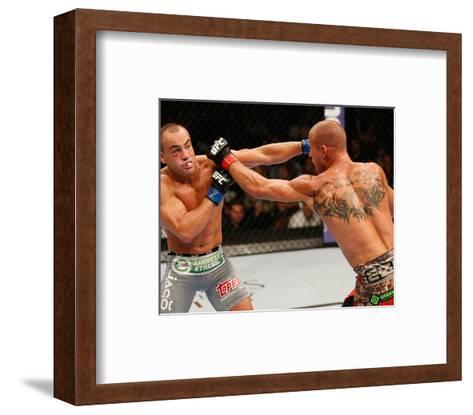 UFC 178 - Cerrone v Alvarez-Josh Hedges/Zuffa LLC-Framed Art Print