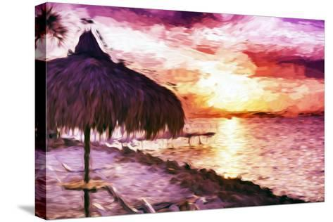 Sunset Trip II - In the Style of Oil Painting-Philippe Hugonnard-Stretched Canvas Print