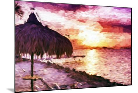 Sunset Trip II - In the Style of Oil Painting-Philippe Hugonnard-Mounted Giclee Print