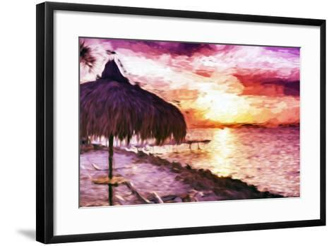 Sunset Trip II - In the Style of Oil Painting-Philippe Hugonnard-Framed Art Print