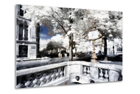 Metro - In the Style of Oil Painting-Philippe Hugonnard-Metal Print