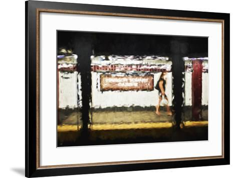 Madison Square Garden - In the Style of Oil Painting-Philippe Hugonnard-Framed Art Print