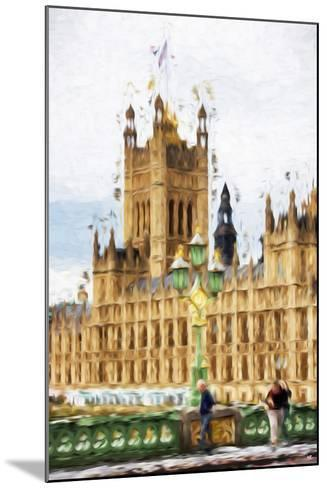 Westminster - In the Style of Oil Painting-Philippe Hugonnard-Mounted Giclee Print