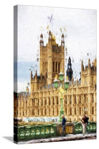 Westminster - In the Style of Oil Painting-Philippe Hugonnard-Stretched Canvas Print