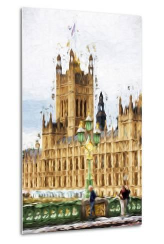 Westminster - In the Style of Oil Painting-Philippe Hugonnard-Metal Print
