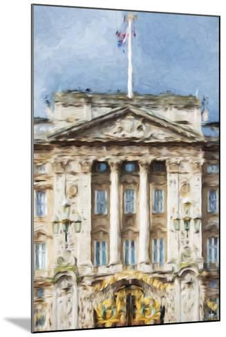 Buckingham Palace - In the Style of Oil Painting-Philippe Hugonnard-Mounted Giclee Print