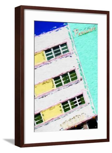 Parisian Colors - In the Style of Oil Painting-Philippe Hugonnard-Framed Art Print