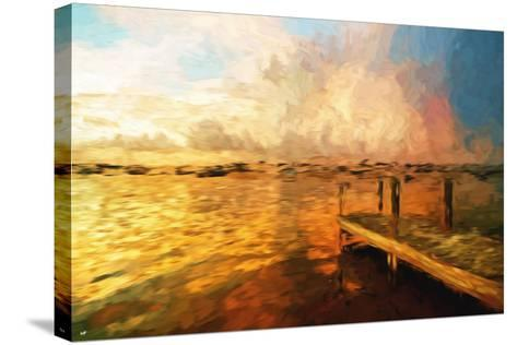 Mysterious Sunset III - In the Style of Oil Painting-Philippe Hugonnard-Stretched Canvas Print