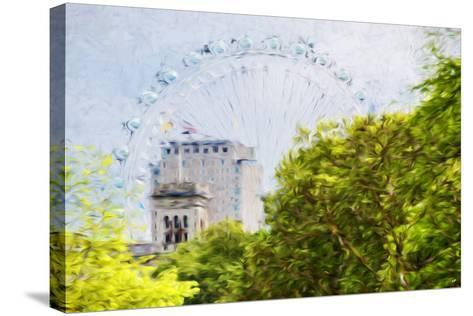 London Natural V - In the Style of Oil Painting-Philippe Hugonnard-Stretched Canvas Print