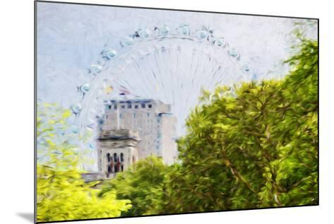 London Natural V - In the Style of Oil Painting-Philippe Hugonnard-Mounted Giclee Print