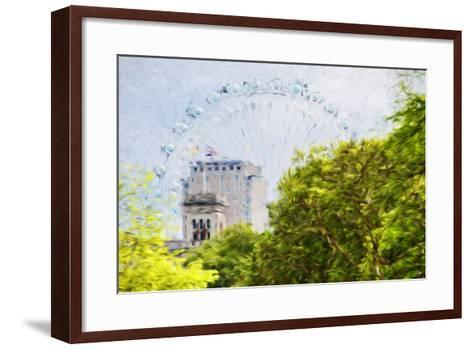 London Natural V - In the Style of Oil Painting-Philippe Hugonnard-Framed Art Print
