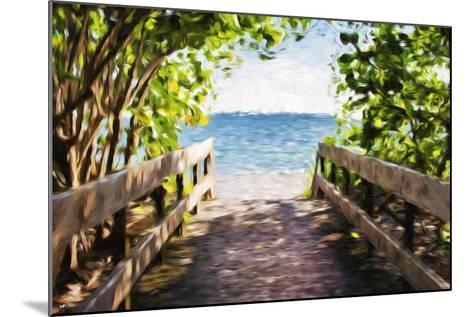 Beach Path - In the Style of Oil Painting-Philippe Hugonnard-Mounted Giclee Print