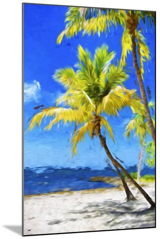 Quiet Beach - In the Style of Oil Painting-Philippe Hugonnard-Mounted Giclee Print