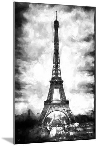 Eiffel Tower Paris-Philippe Hugonnard-Mounted Giclee Print