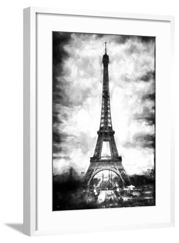 Eiffel Tower Paris-Philippe Hugonnard-Framed Art Print