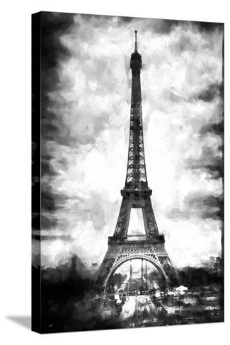 Eiffel Tower Paris-Philippe Hugonnard-Stretched Canvas Print