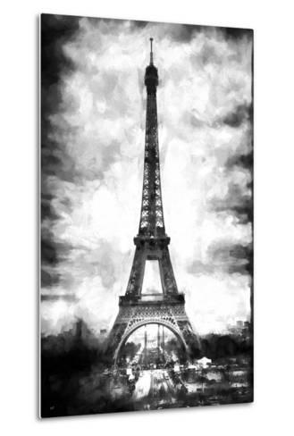 Eiffel Tower Paris-Philippe Hugonnard-Metal Print
